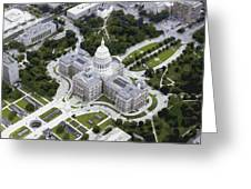 Texas Capitol Color 16 Greeting Card