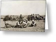 Texas: Cowboys, C1906 Greeting Card