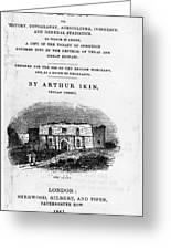 Texas: Guidebook, 1841 Greeting Card