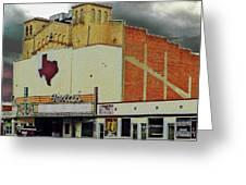 Texas Theater II Greeting Card