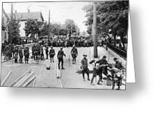 Textile Strike, 1934 Greeting Card