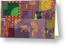 Textural 167 Greeting Card