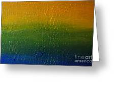 Textured Colors Greeting Card