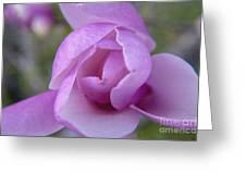 Textured Flowerr Greeting Card