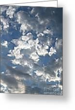 Textured Skies Greeting Card