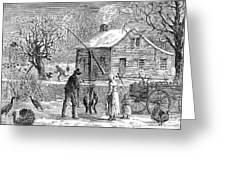 Thanksgiving, 1882 Greeting Card
