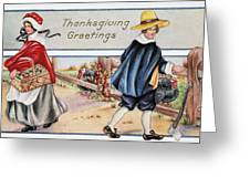 Thanksgiving, C1900 Greeting Card