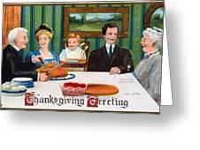 Thanksgiving Card, 1910 Greeting Card