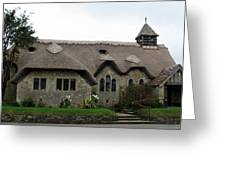 Thatched Church Greeting Card