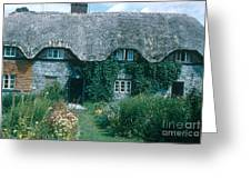 Thatched Roof, England Greeting Card
