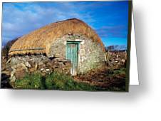 Thatched Shed, St Johns Point, Co Greeting Card