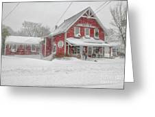The 1856 Country Store On Main Street In Centerville On Cape Cod Greeting Card