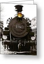 The 482 Durango To Silverton Greeting Card