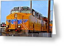 The 5279 To Reno Greeting Card