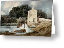 The Abbey Mill - Knaresborough Greeting Card