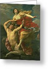 The Abduction Of Deianeira Greeting Card