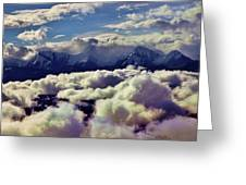 The Alaska Range Greeting Card