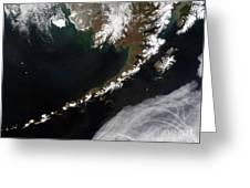 The Aleutian Islands And The Alaskan Greeting Card