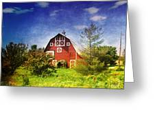 The Amish House Greeting Card