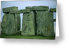 The Ancient Ruins Of Stonehenge Greeting Card