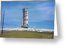 The Apollo Saturn 501 Launch Vehicle Greeting Card