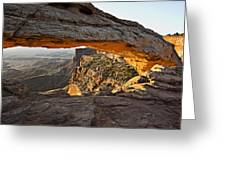 The Arch, Arches National Park, Moab Greeting Card