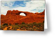 The Arches Of Utah Greeting Card