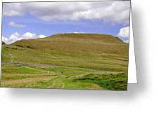 The Ascent Of Mam Tor Greeting Card