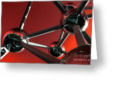The Atomium Greeting Card by Rob Hawkins