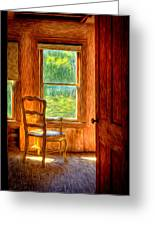 The Attic View Greeting Card
