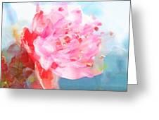 The Aura Of A Peach Blossom Greeting Card