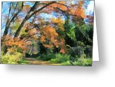 The Autumn Forest Greeting Card
