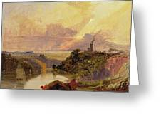 The Avon Gorge At Sunset  Greeting Card