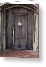 The Bar Door Greeting Card