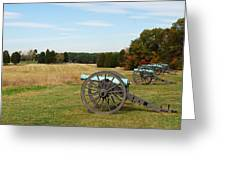 The Battle Of First Manassas  Greeting Card