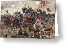 The Battle Of Spotsylvania Greeting Card