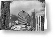 The Bean Chicago Illinois Greeting Card