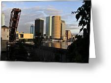 The Beautiful City Greeting Card