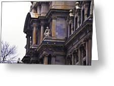 The Beauty Of Philadelphia City Hall Greeting Card
