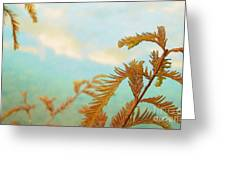 The Beauty Of Weeds Greeting Card