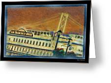The Belle Of San Francisco Greeting Card