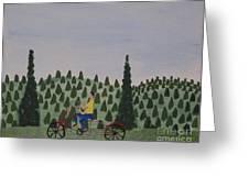 The Bike Rider Greeting Card