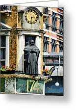 The Black Friar Pub In London Greeting Card