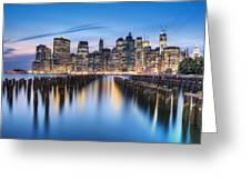 The Blue Hour Greeting Card