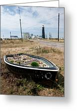 The Boat Garden Greeting Card