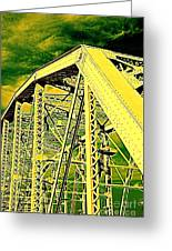 The Bridge To The Skies Greeting Card