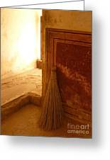 The Broom Greeting Card