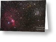 The Bubble Nebula Greeting Card