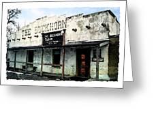 The Buckhorn Saloon Greeting Card
