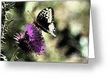 The Butterfly II Greeting Card